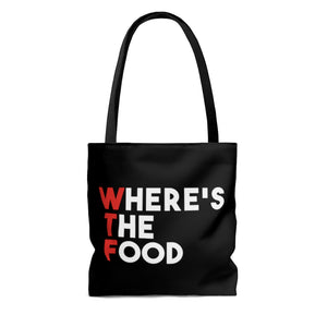 Where's The Food Tote Bag