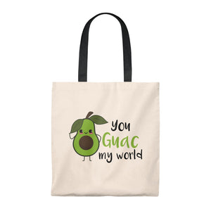 You Guac My World Tote Bag - Vintage
