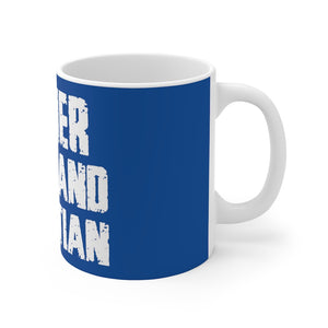 Father Husband RD Mug (Blue)