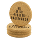 RD is Dr Spelled Backwards Cork Coaster