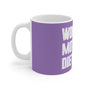 Woman Mother RD Mug (Purple)