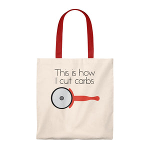 This Is How I Cut Carbs Tote Bag - Vintage