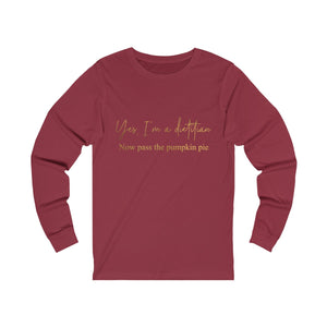 Pass The Pumpkin Pie - Women's Long Sleeve