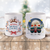 3D Preview - Personalized Christmas Friends Mugs For Woman & Man