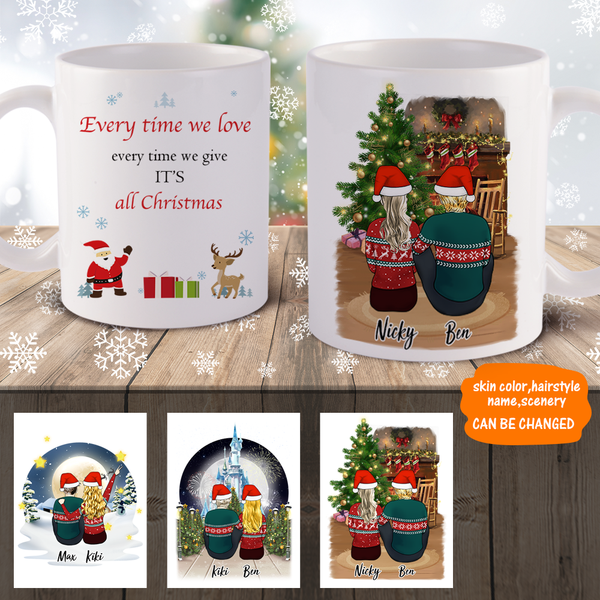 Personalised Mugs Custom Photo Mug Coffee Mug For Lover 3D Preview & Online Design