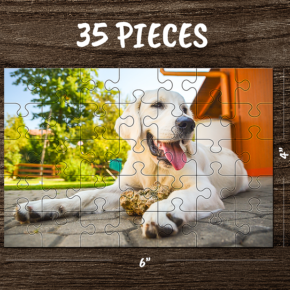 Custom Jigsaw Puzzle Memorable Gifts For Best Dad-35-1000 pieces