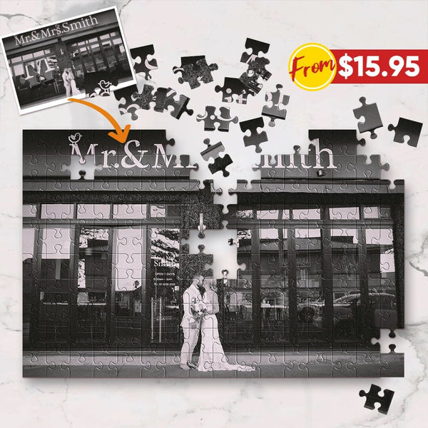 Custom Photo Jigsaw Puzzle - Best Engagement Gifts