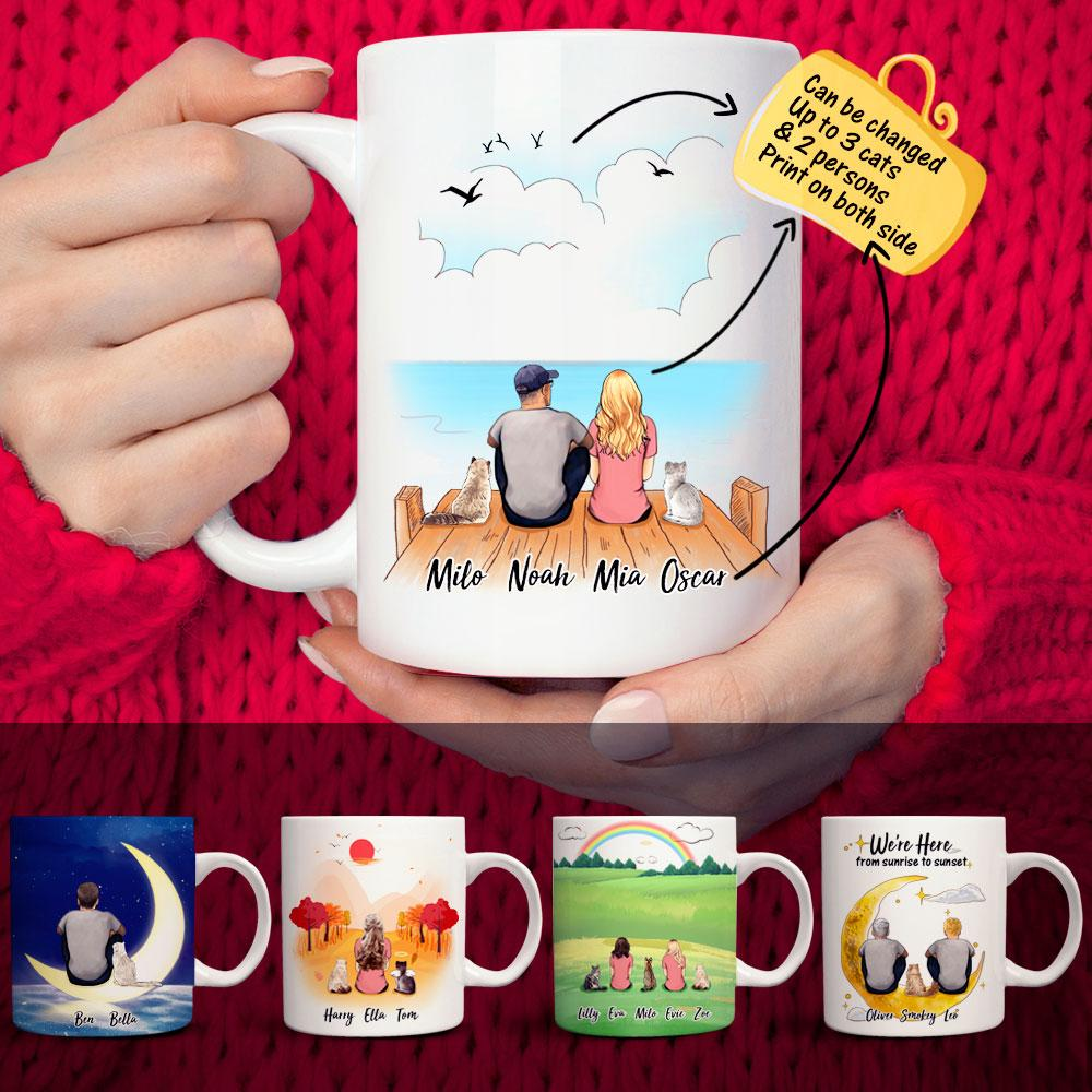 VIP Personalized Cat&Cat Owner Coffee Mug(Print On Both Sides)