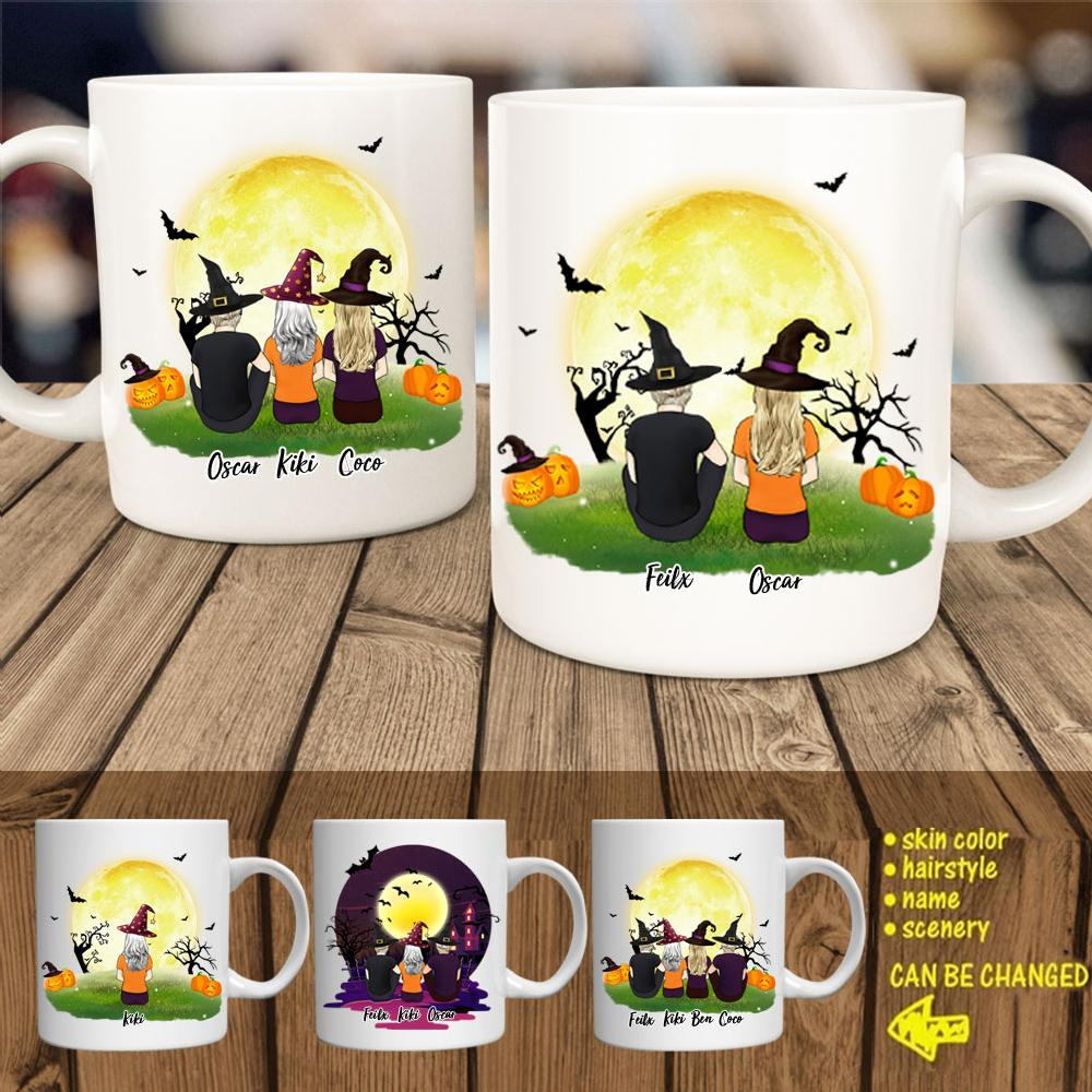 Halloween Best Friends Coffee Mug