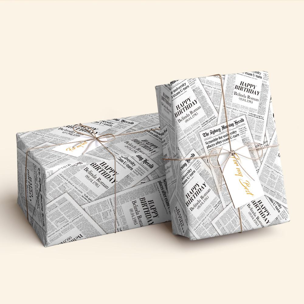 Newspaper Wrap Paper