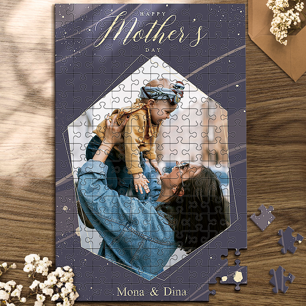 Custom Mother's Day Puzzles - lozenge - 35~1000 pieces
