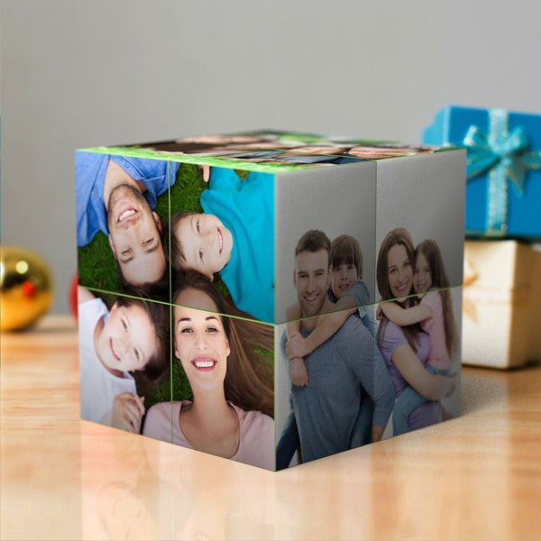 Custom Multi Photo Folding Magic DIY Rubik's Cube For Family