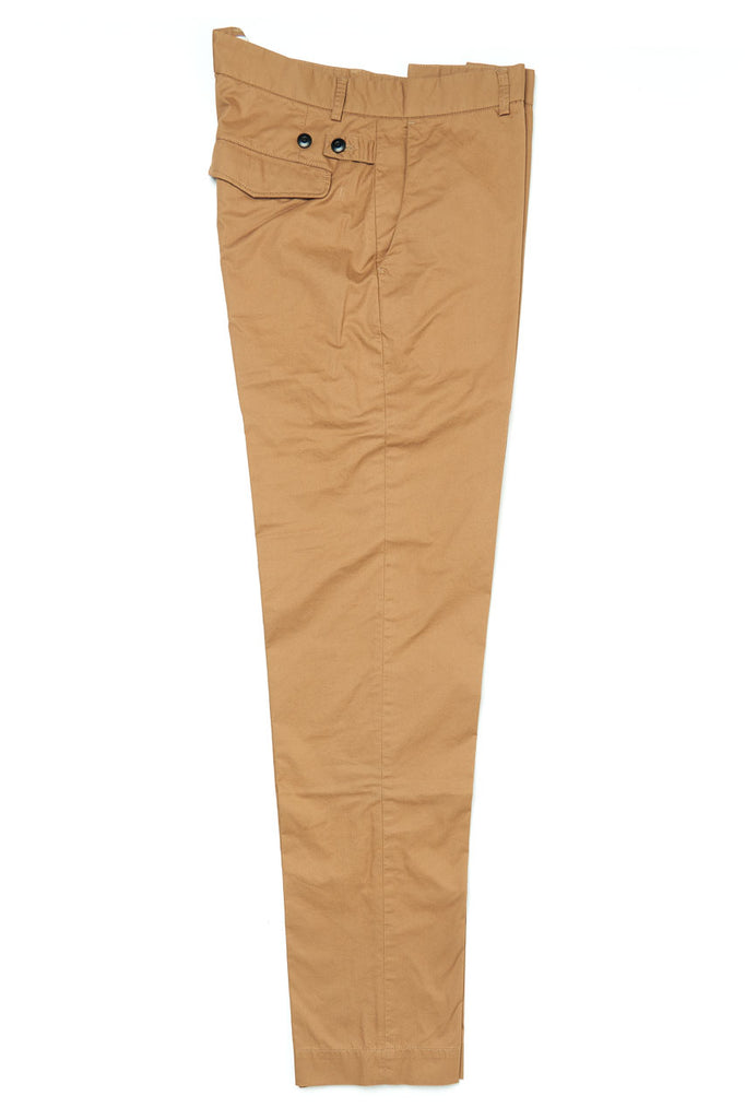 A.B.C.L. Garments Officer Pants Hard Twist Cotton Biscuit
