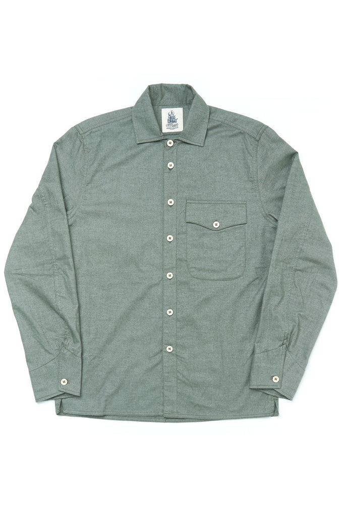 Captain Santors Shirt 8806-CS430 Light Flannel Green