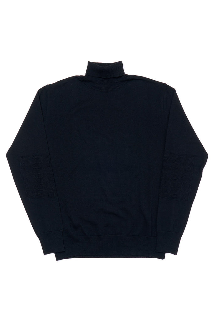 G.R.P. Knitwear W' Fine Knit Turtleneck SF TEC 1 Black
