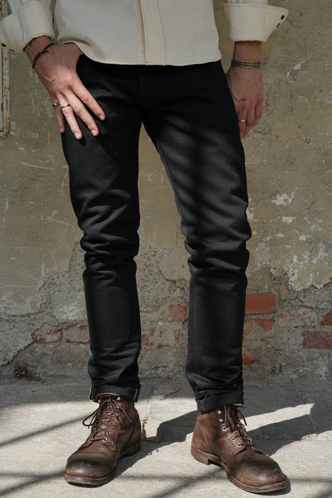 Indigofera Jeans Nash Gunpowder Selvedge