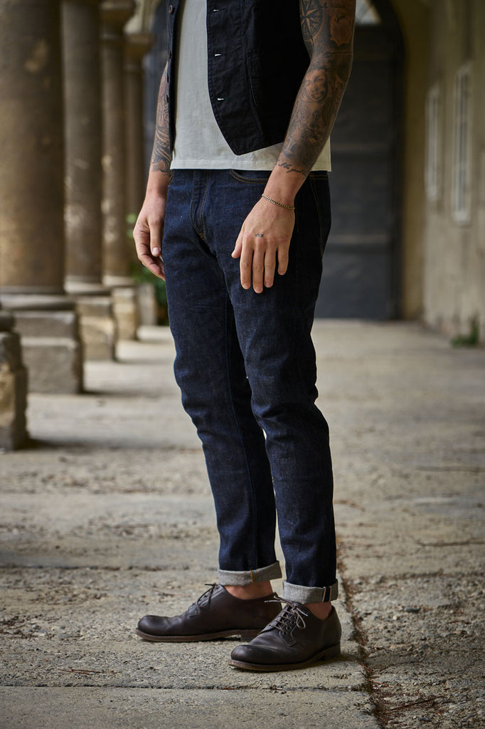 "Japan Blue Jeans J204 ""Circle"" Tapered African Cotton"