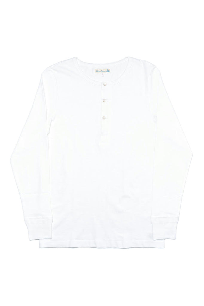 Merz b. Schwanen Good Originals Henley 206 White