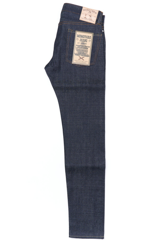 Momotaro Jeans 0306-70 Slubby Denim Tight Tapered