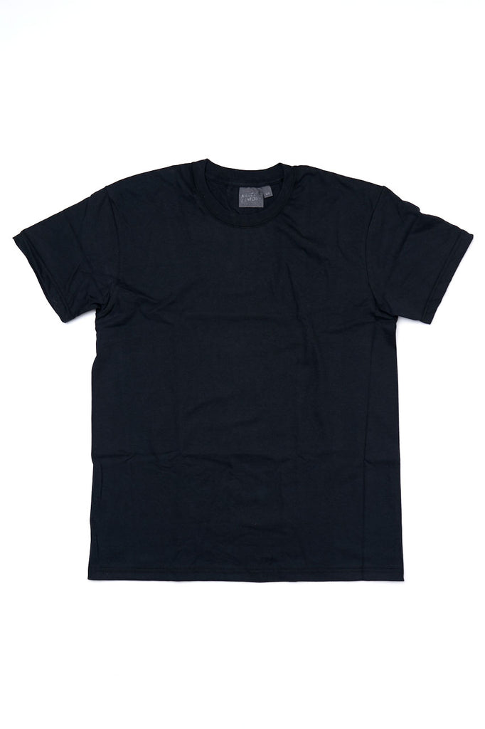 Naked and Famous Denim Circular Knit T-Shirt Black