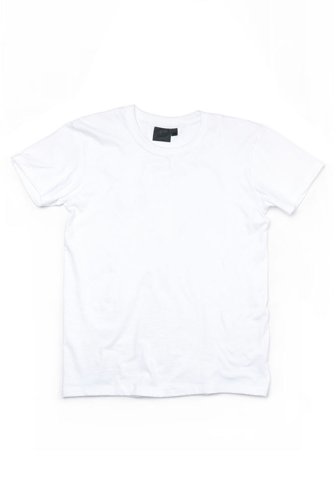 Naked and Famous Denim Circular Knit T-Shirt White