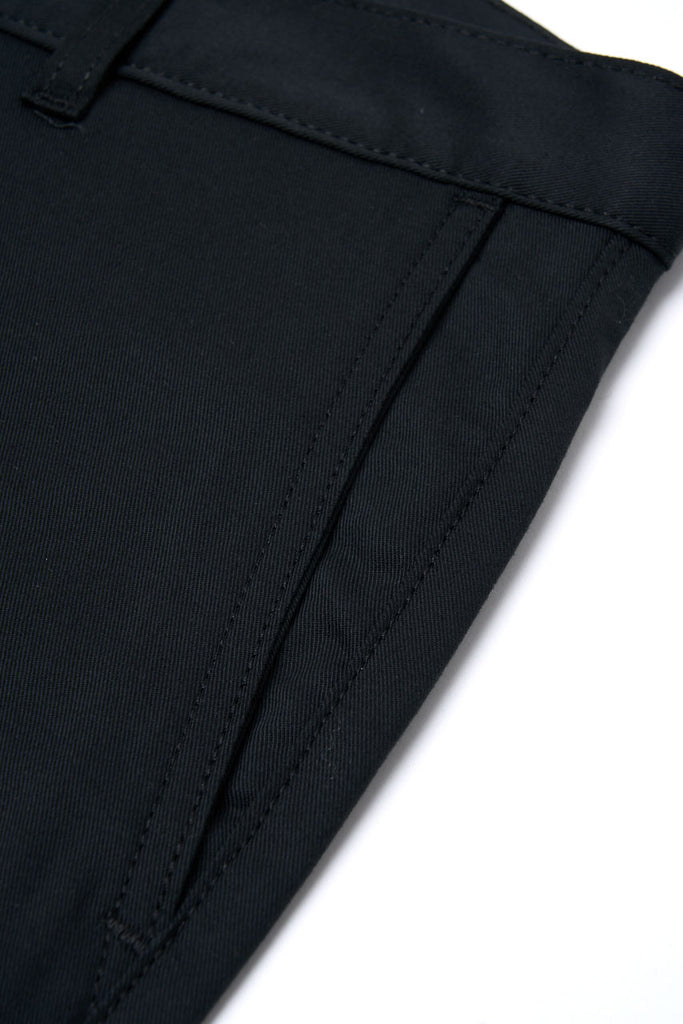 Naked & Famous Denim Slim Chino Stretch Twill Black