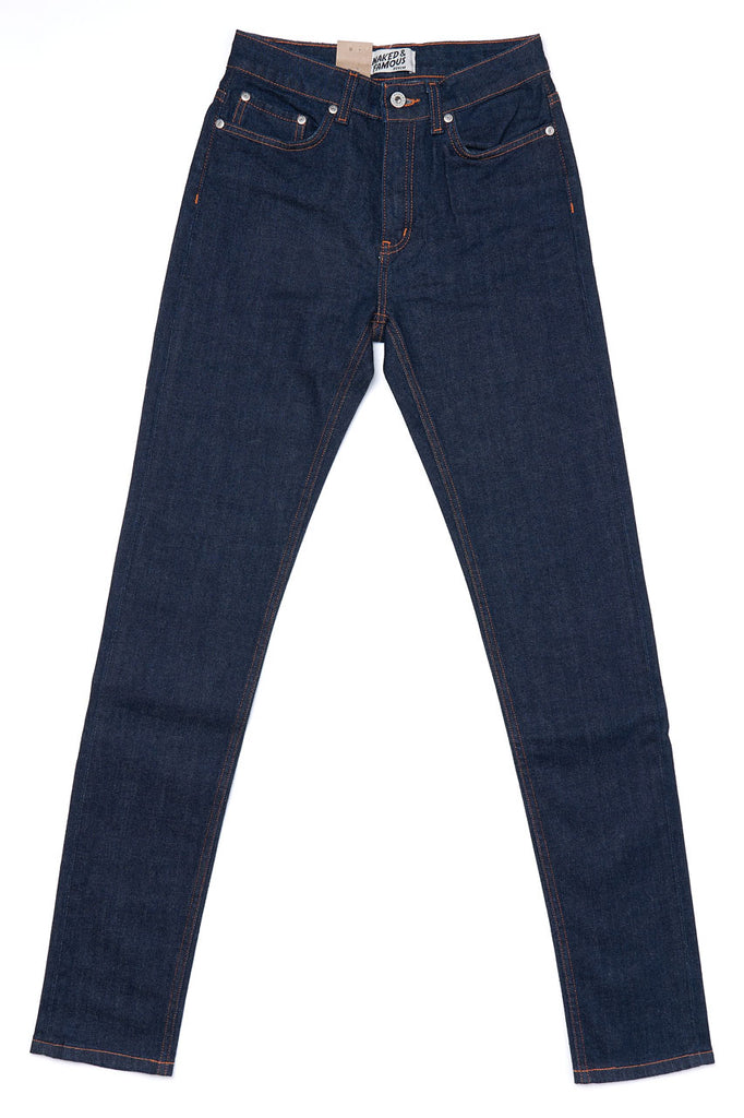 Naked and Famous Denim The High Skinny 10oz Stretch Selvedge