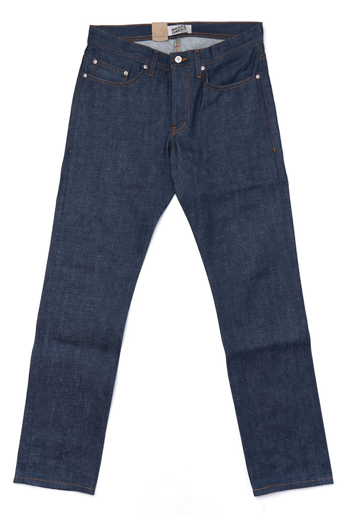 Naked and Famous Denim Weird Guy Dirty Fade Selvedge