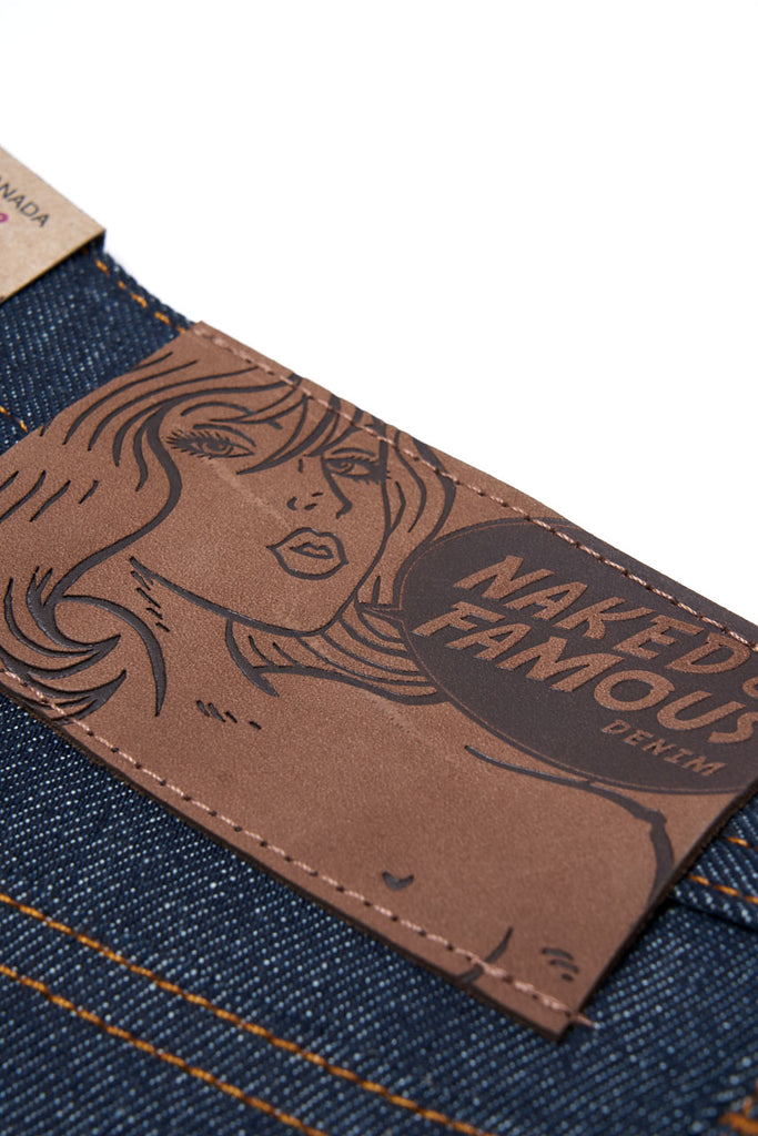 Naked & Famous Denim Weird Guy Dirty Fade Selvedge