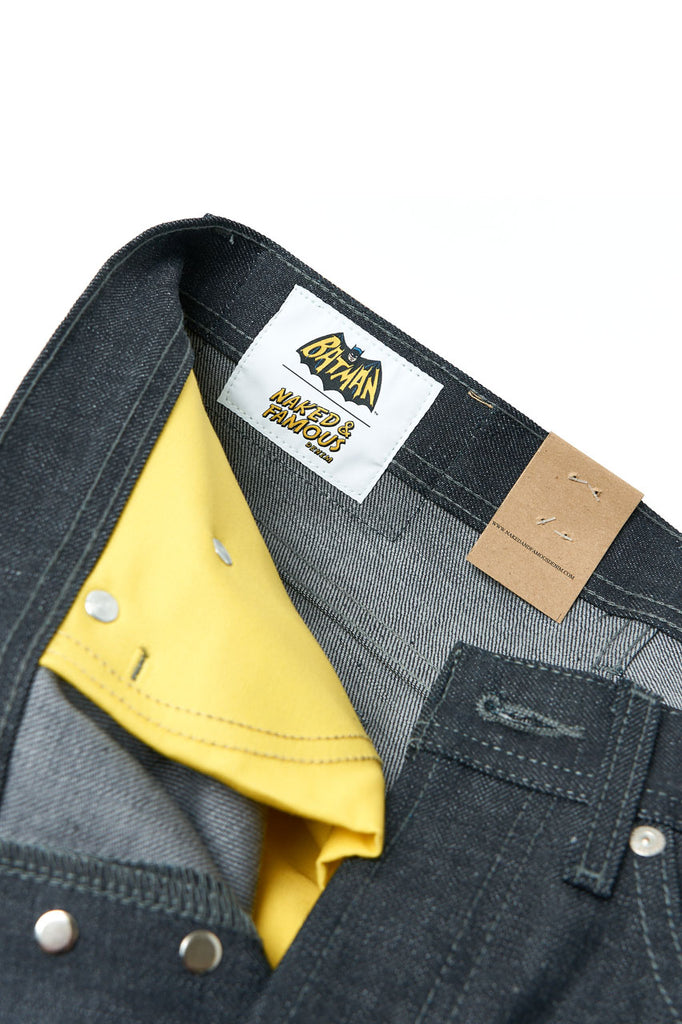 Naked & Famous Denim x Batman The Dynamic Duo Selvedge Weird Guy