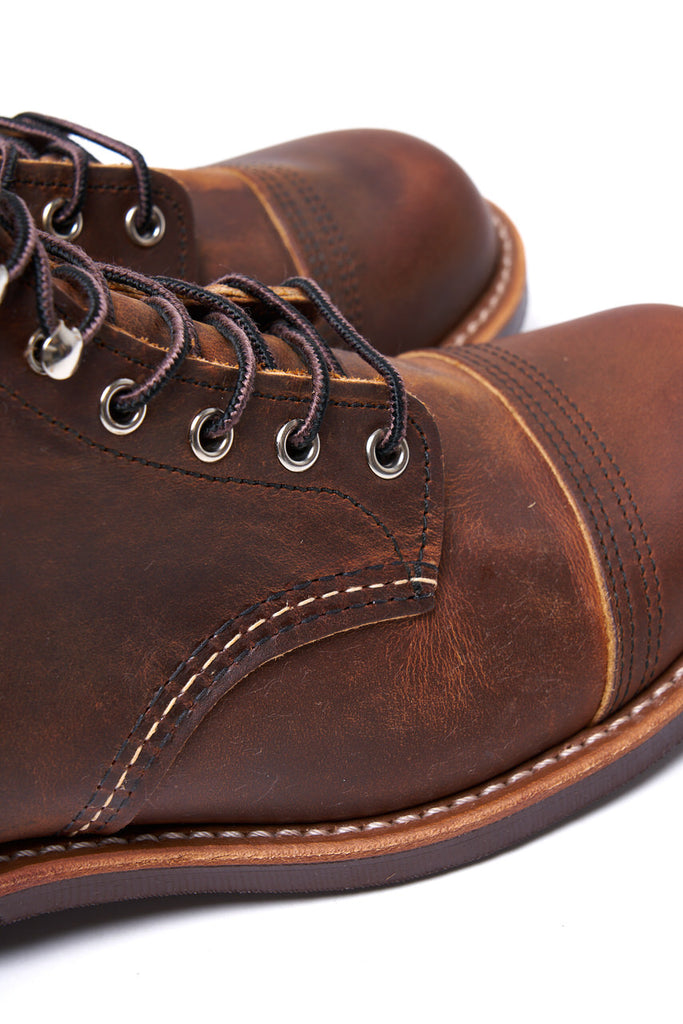 Red Wing Shoes Iron Ranger 8085 Copper Rough & Tough