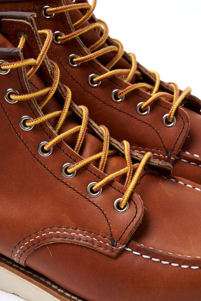 Red Wing Shoes Moc Toe 875 Oro Legacy
