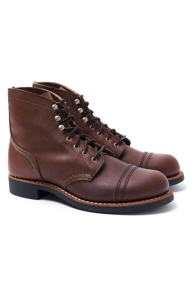 Red Wing Shoes Women Iron Ranger 3365 Amber Harness