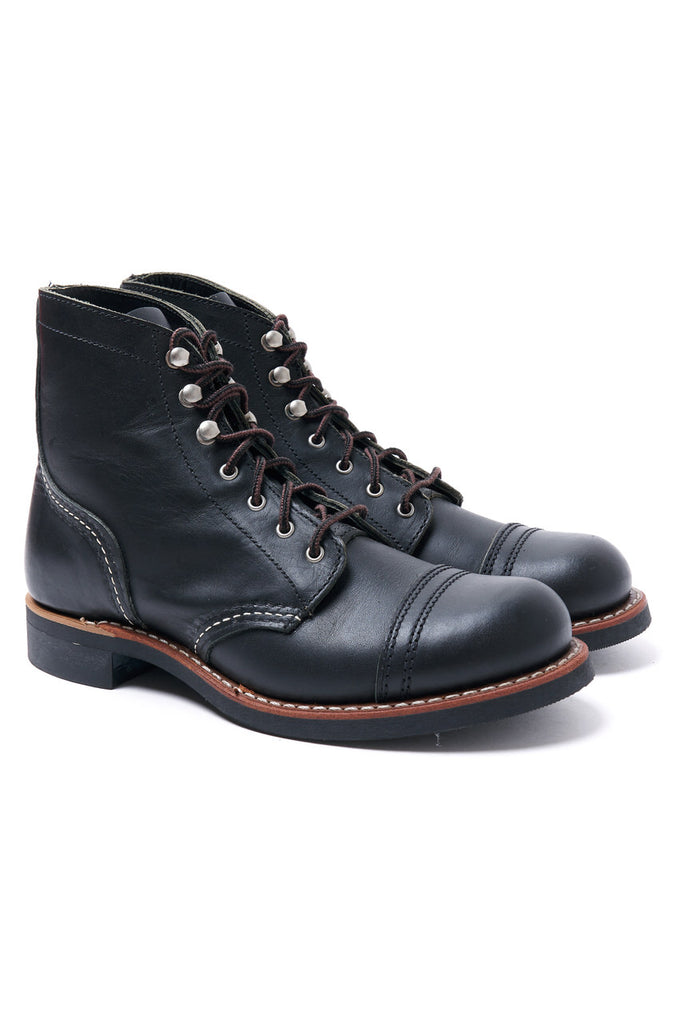Red Wing Shoes Women Iron Ranger 3366 Black Boundary