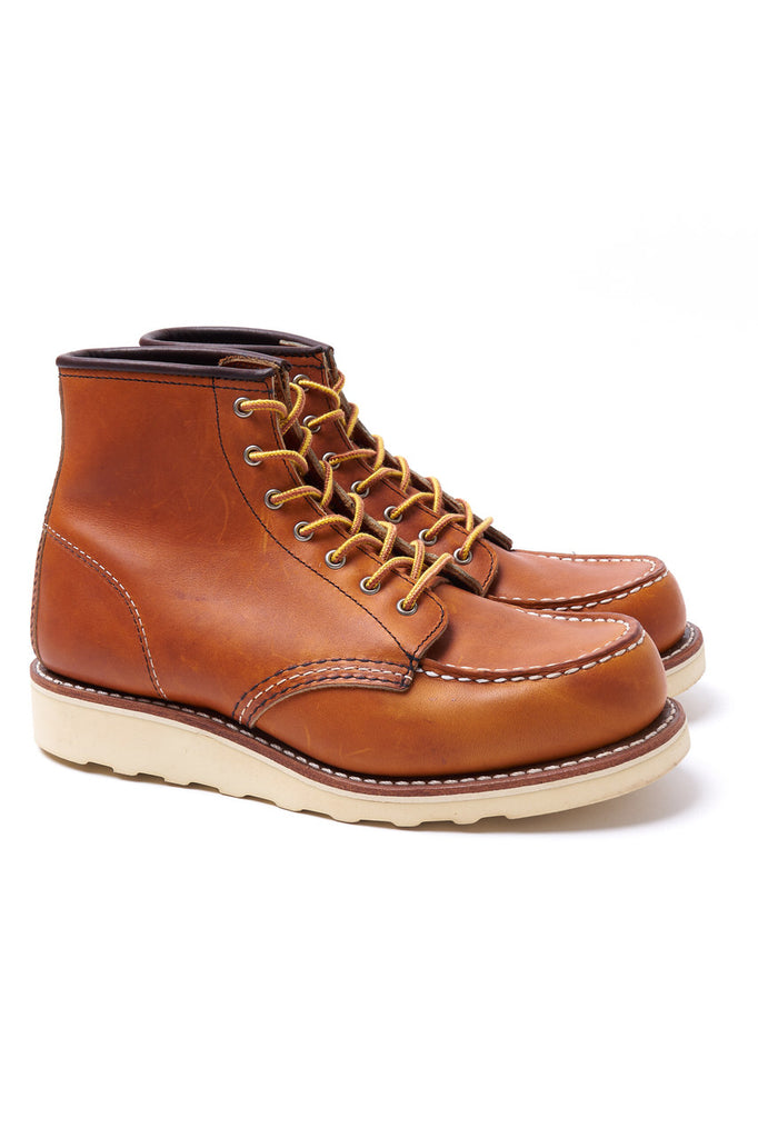 Red Wing Shoes Women Moc Toe 3375 Oro Legacy