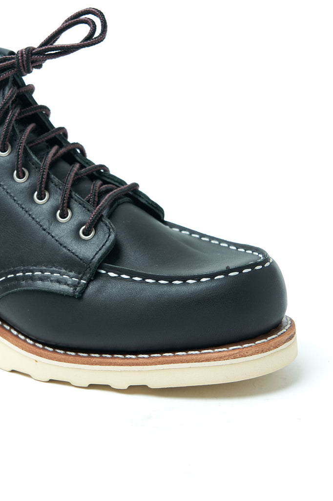 Red Wing Shoes W' Moc Toe 3373 Black Boundary