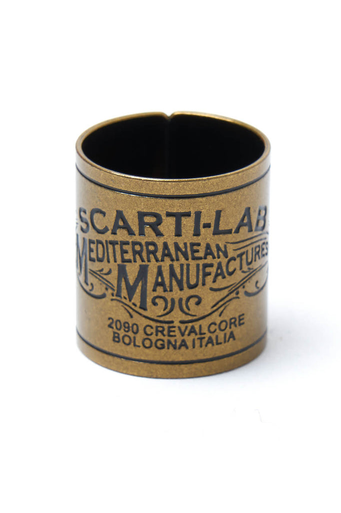 Scarti Lab Bandana Ring Brass
