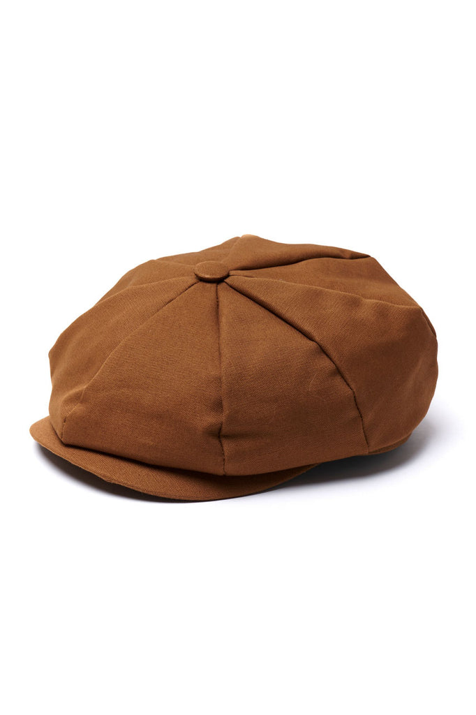 Scarti Lab 8 Panel Cap Andy Canvas Brown
