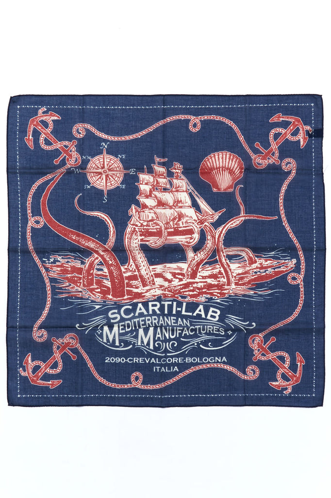 Scarti Lab Octopus Cotton Bandana