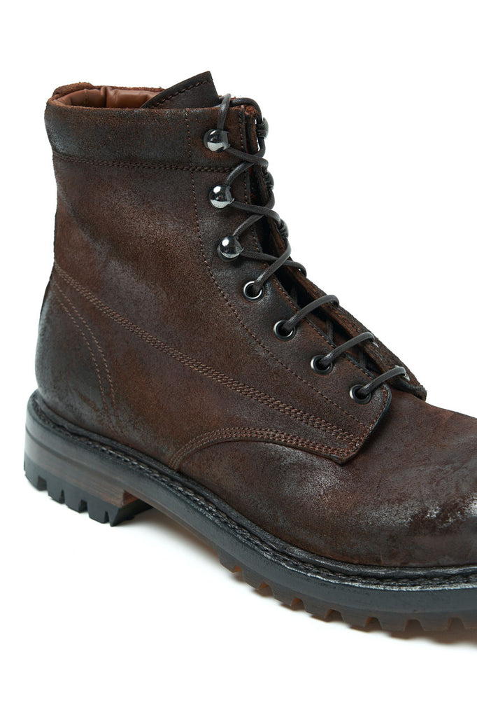Silvano Sassetti Travel Boot Roughout Testa Di Moro