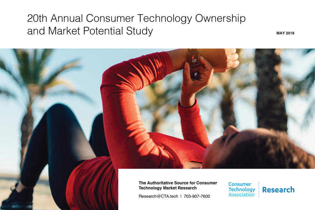 20th Annual Consumer Technology Ownership and Market Potential Study