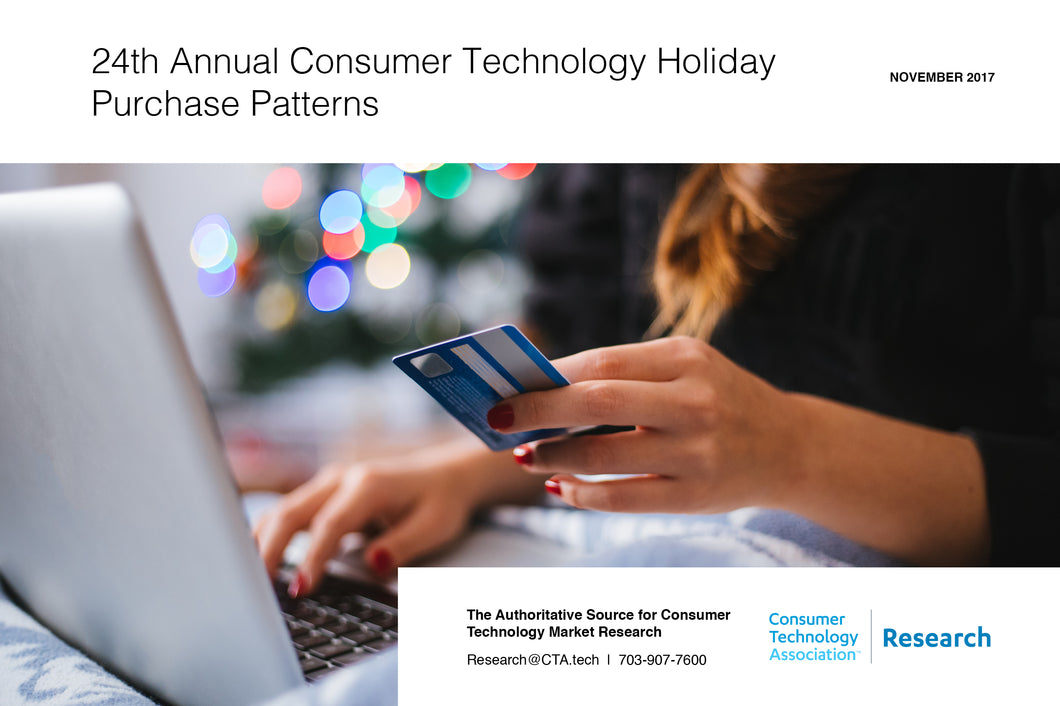 24th Annual Consumer Technology Holiday Purchase Patterns
