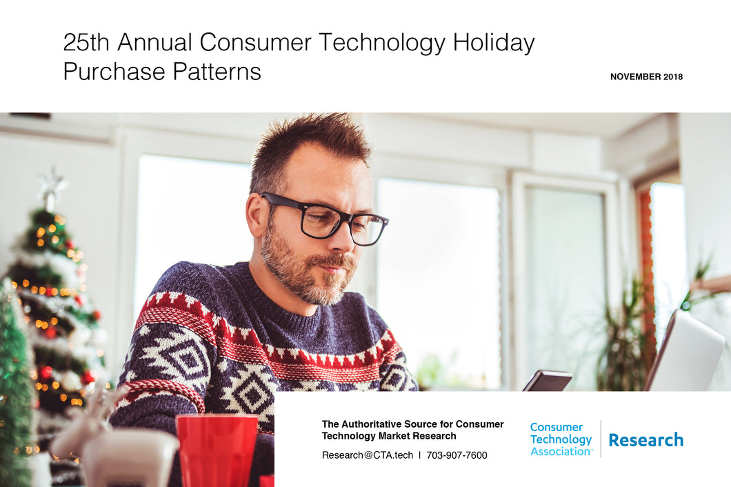25th Annual Consumer Technology Holiday Purchase Patterns