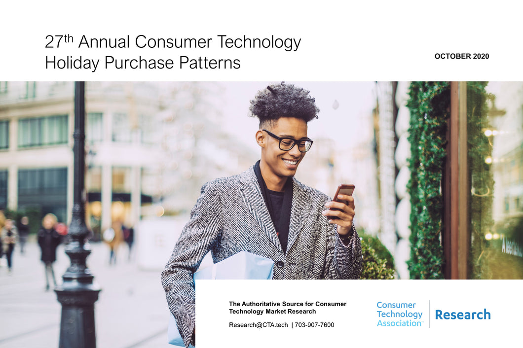 27th Annual Consumer Technology Holiday Purchase Patterns