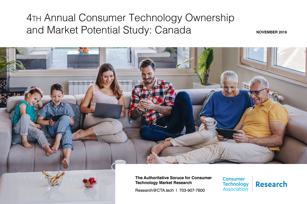 4th Annual Consumer Technology Ownership and Market Potential Study: Canada