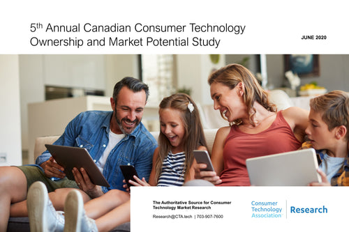 5th Annual Canadian Consumer Technology Ownership and Market Potential Study