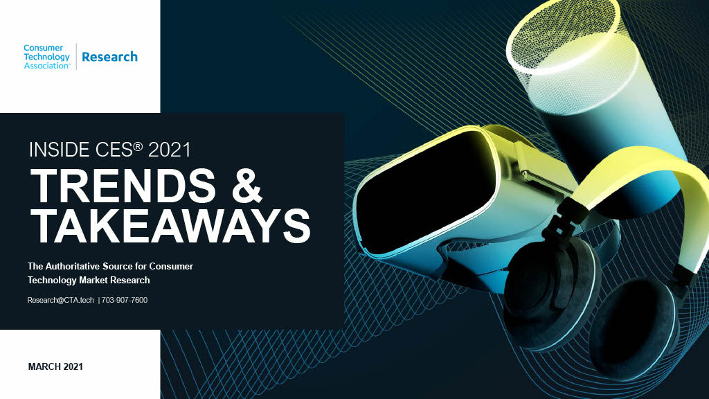 Inside CES 2021: Trends & Takeaways