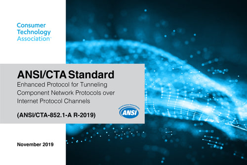 Enhanced Protocol for Tunneling Component Network Protocols over Internet Protocol Channels (ANSI/CTA-852.1-A R-2019)
