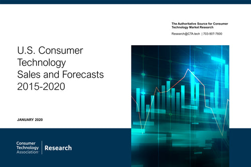 U.S. Consumer Technology Sales and Forecasts - 2015-2020 (January 2020)