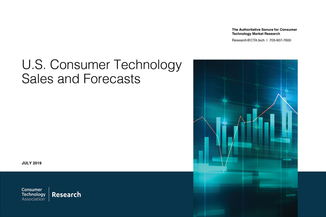 U.S. Consumer Technology Sales and Forecasts - 2015-2020